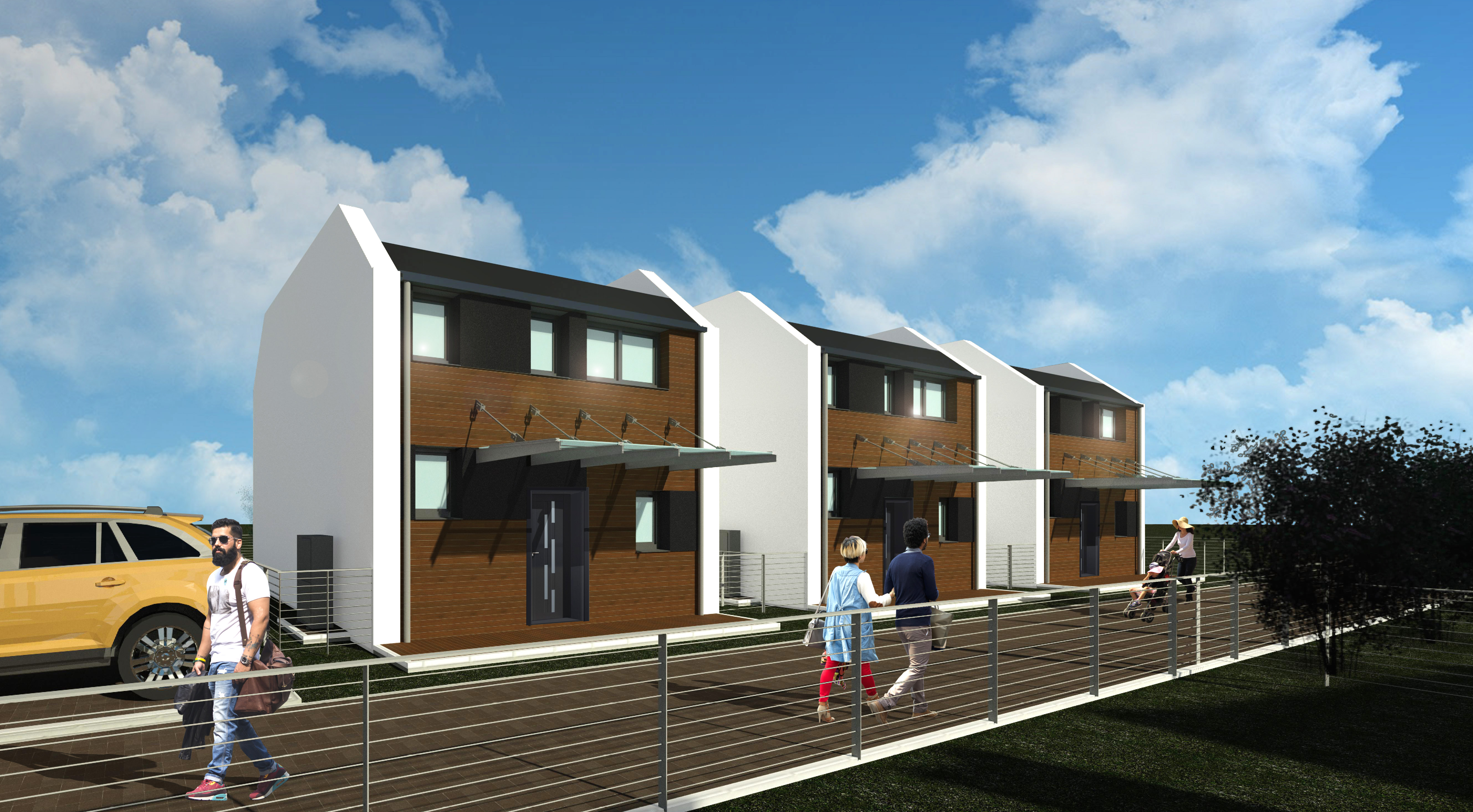 2.1 Residential Complex Laxenburg - day